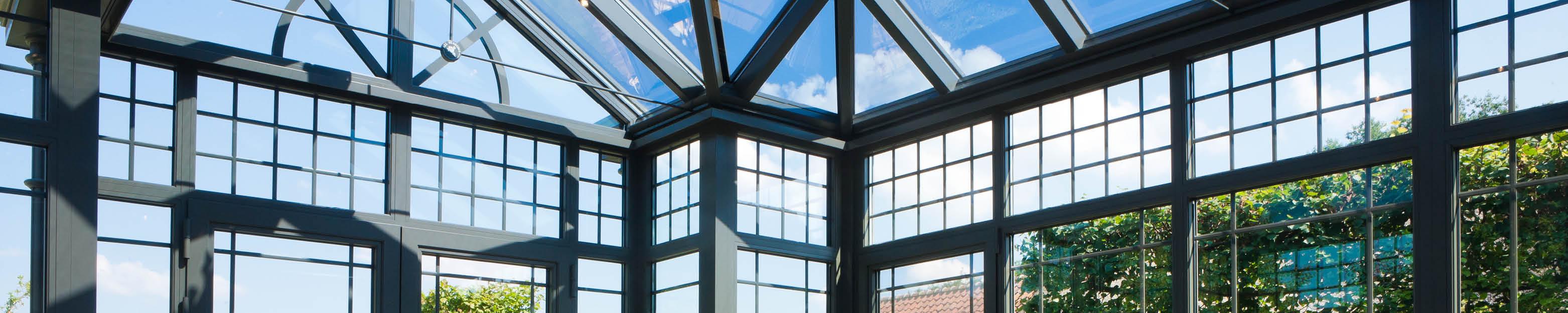 Veranda in glas